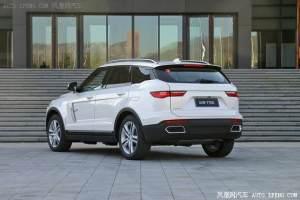 众泰T700 8AT车型上市 售12.58-15.58万