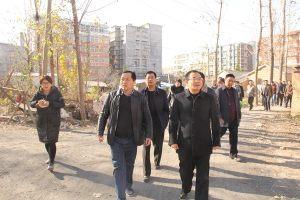 邓真晓调研城区市政建设工作