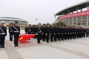 临泉县城乡管理行政执法局举行换装仪式