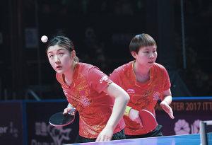 国际乒联总决赛 中国队夺女单、女双两金