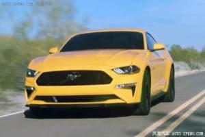 新款福特Mustang GT路试照亮相 来自V8的咆哮..
