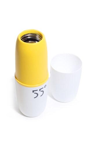 水杯神器55度杯保温神奇温度速调杯