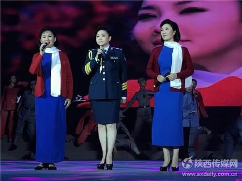 杨凌在线:《红梅赞》阎肃经典作品音乐会在京举行 我省歌唱家应邀参演