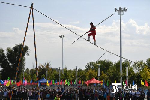 全疆各地体育爱好者齐聚民运会赛场助阵