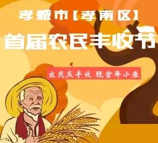 孝感市(孝南区)首届农民丰收节开幕了!