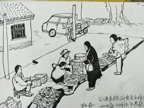 乡愁元谋|一位画家用画笔记下的元谋老城区景象,网友:勾起了我的乡愁