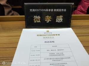 梵高EDITION来孝感新闻发布会在孝感壹为艺术馆举行