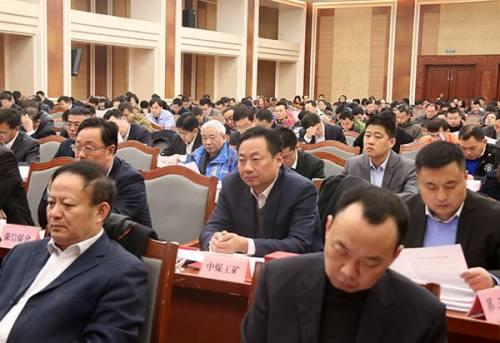 全县商务工作和发展开放型经济工作会议召开
