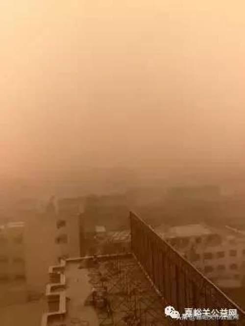 """""""啊呜子""""来了!沙尘席卷甘肃多个城市,今年以来最强一次!"""