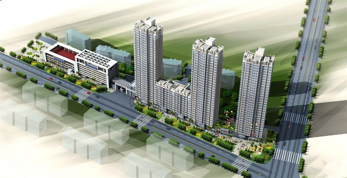 杨凌化建办公写字楼1-3层2676平出租