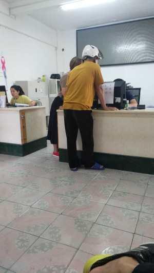 儋州市合管办8:41分有个别工作人员都还没到岗位