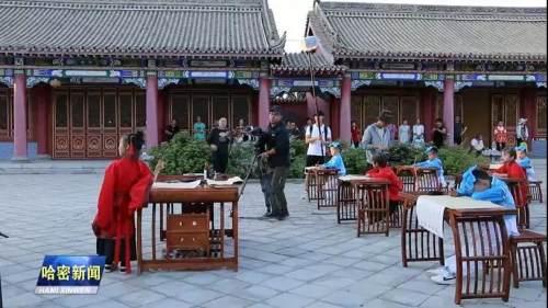 中央广播电视总台大型纪录片《中国影像方志》拍摄组走进巴里坤
